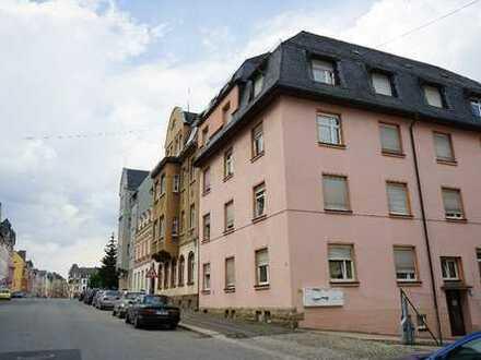 Günstig! Hell! Vollständig renoviert! 2-Zimmer-EG-Wohnung zur Miete im Vogtlandkreis