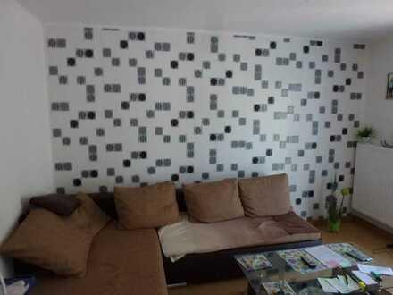 gutgeschnittene Wohnung mit drei Zimmern sowie Balkon und Einbauküche in Durmersheim