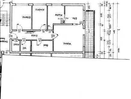 Erstbezug nach Sanierung mit Balkon: attraktive 3-Zimmer-Wohnung in Linkenheim-Hochstetten