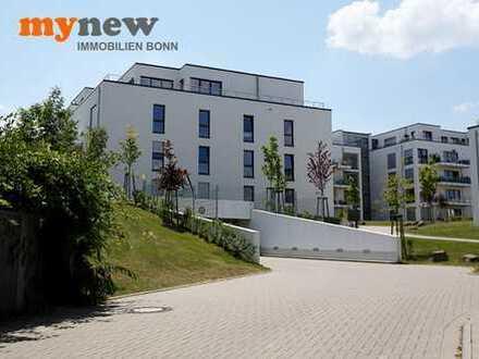 mynew: NEUBAU-ZWEITBEZUG! Hochwertig und barrierefrei! Schicke Zwei-Zimmer-Whg mit großem Balkon!