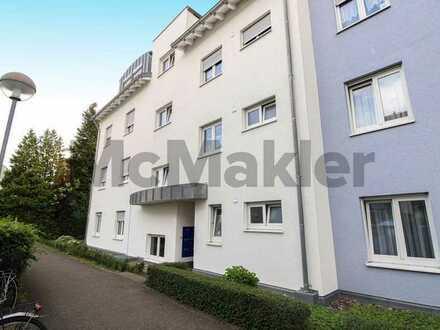 Vermietete Kapitalanlage nördlich von Stuttgart: 1-Zi.-ETW mit Terrasse und Garten in Kornwestheim