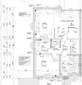 Erstbezug! 2,5-Zimmer-Wohnung im EG in Borken-Gemen zu vermieten