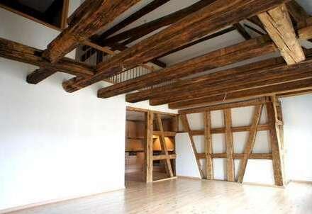 + Wohnen in Kulturdenkmal + 120 qm Galeriewohnung + provisionsfrei +