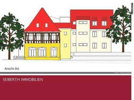 Kernsanierte EG-Wg. im hist. Fachwerkhaus- 3 Zi/Kü/Bad - Schlüsselfertig - 74 qm - Terrasse