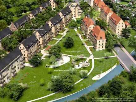 Exklusive 3-Zimmer-Wohnung am Proviantbachquartier - schön, saniert, offen, hell, ruhig!