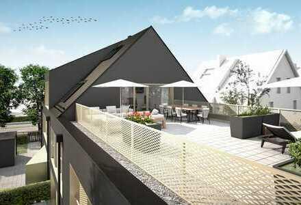 Exklusives Penthaus für Individualisten mit 80m² großer Dachterrasse