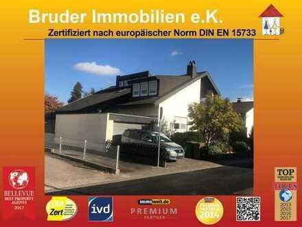 Walldorf, Buchenweg 6: kompl. Doppelhaus 100m vorm Wald, keine K-Prov. OPEN HOUSE 18.1. um 14.00h