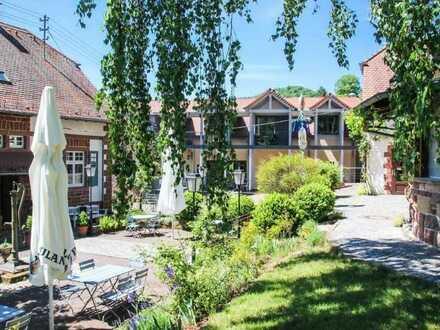 Erfolgreich geführtes Anwesen mit Restaurant, Biergarten, Gästehäusern im Pfälzer Wald zu verkaufen.
