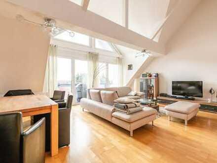 """Maintal-Hochstadt: """"Einmalig"""" - Einzigartige 5,5 Zimmer-Maisonette-Wohnung mit Süd-Balkon & EBK"""
