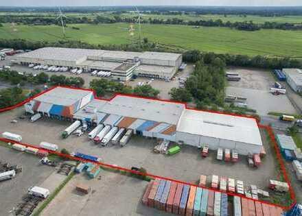 Lager- und Logistikhallen in exzellenter Lage im GVZ