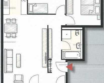 Sonnige 3-Zimmer-Wohnung in Ostfildern Scharnhauser Park