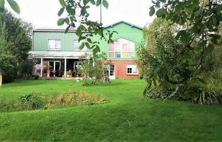 Wunderschöner Resthof auf über 9.000 m² Traumgrundstück am Nord-Ostsee-Kanal inkl. Baugrundstücken