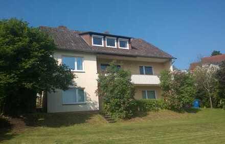 Singlewohnung in Südhanglage mit toller Aussicht und Garten.
