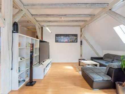 Wohnnen und Arbeiten auf zwei Etagen