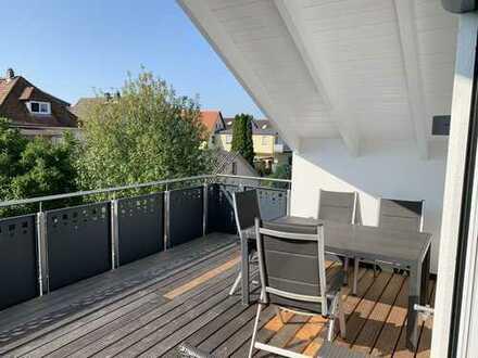 3-Zimmer-Dachgeschosswohnung mit Loggia und EBK in Mainhausen