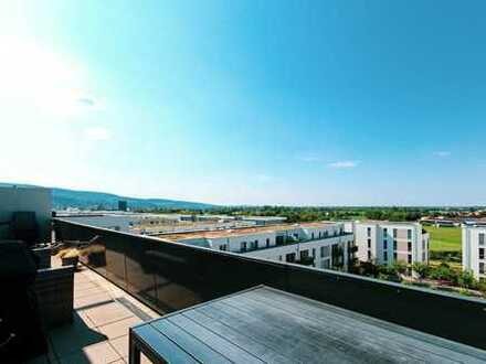 Bahnstadt Heidelberg: Moderne 4-Zi-Penthouse-Wohnung mit Weitblick!