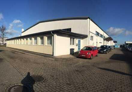 Halle mit Büro an der Hansestraße