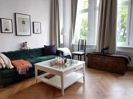 Saniertes Business 1-Zimmer Altbau-Apartment im Berliner Bezirk Moabit