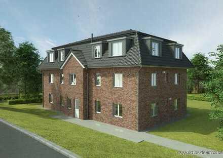 Neubau! 2-Zi.-Erdgeschosswohnung (KfW 55 Standard) mit Terrasse und Gartenanteil!
