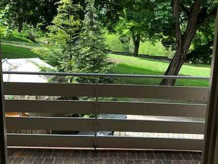neu renovierte 2-Zimmer-Wohnung mit Balkon und neuer EBK in Rottweil