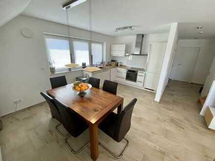 Luxuriöse 3 ZKB Maisonette-Wohnung mit zwei Balkonen in ruhiger Wohnlage in Trier-Zewen!