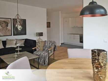 2-Zimmer-Whg. mit EBK und Sonnenterrasse im Linden-Carrée - urbane Lage mit direkter Nähe zur Natur