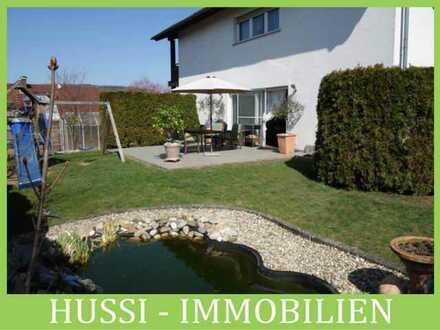 Die kleine Alternative zum Haus: Tolle EG-ETW mit eigenem Garten / Keller / Garage
