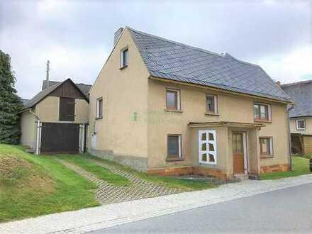 Einfamilienhaus im malerischen Erholungsort 01904 Weifa sucht neuen Eigentümer!