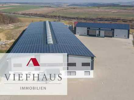 !! VERKAUFT !! Industriepark A81: Gewerbegrundstück (ca. 10.000m²) mit neuwertigen Produktions- u...