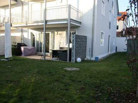 Schöne drei Zimmer Wohnung mit großem Garten in Gaimersheim