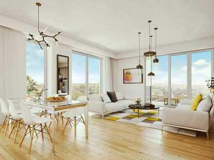 Helle 3-Zimmer-Wohnung mit großem Wohnbereich, Loggia und Balkon