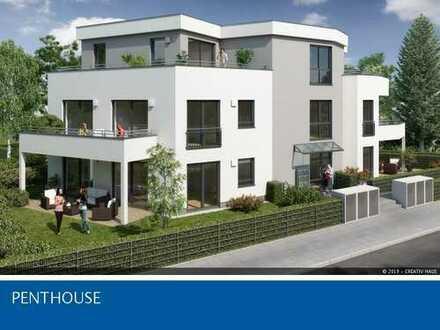 CREATIV HAUS - Lichtdurchflutetes Penthouse, 3-Zimmer, 56m² Dachterrasse, S2- 500m