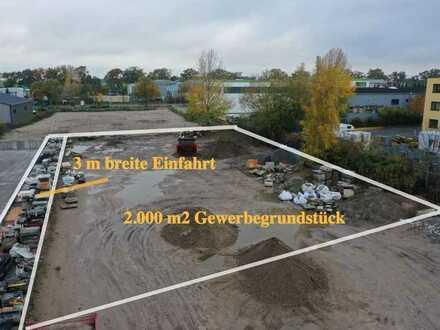 2000m2 Gewerbegrundstück in Top-Lage nahe Berlin zu vermieten; Schöneiche; B1; A10