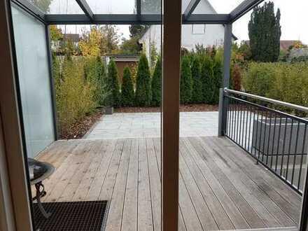 Geräumige 3-Zimmer-Wohnung mit Terrasse (Etagenwohnung) in Geisenfeld