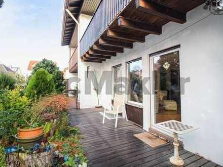 4-Zi.-DHH mit eigenem Garten und Terrasse in familienfreundlicher Lage unweit Frankfurt am Main