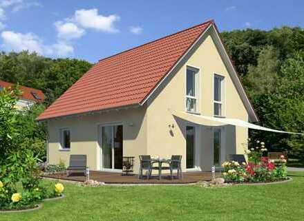 Klosterdorf - Baugrundstück mit Haus - freie Planung