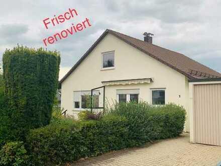 Renoviertes, schönes Einfamilienhaus mit großem Garten und schöner Terrasse in Nagold