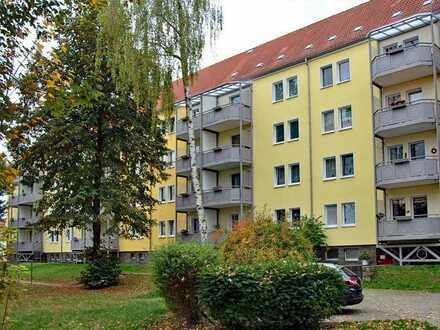 Wohnen in toll sanierter 3-Raum-Wohnung