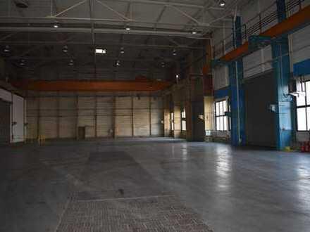 Produktionshalle mit Büroflächen und Freiflächen - autobahnnah