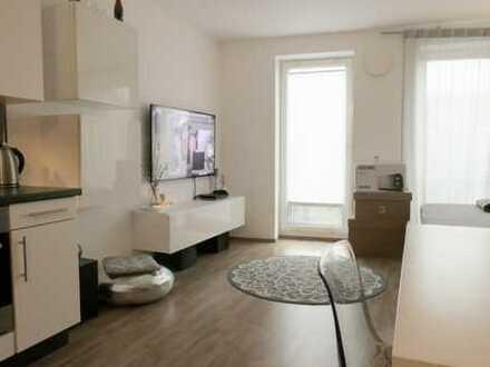 Fleethöfe - modernes 1 Zimmer Kubox-Appartement mit Balkon