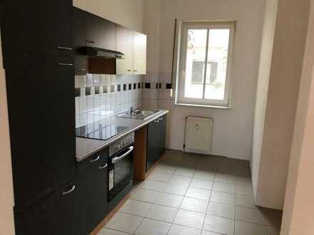 Schöne helle Wohnung mit EBK und Garten zu vermieten!!!