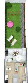 **Vorankündigung**- in Kürze bezugsferig - saniertes Reihenmittelhaus mit Garten