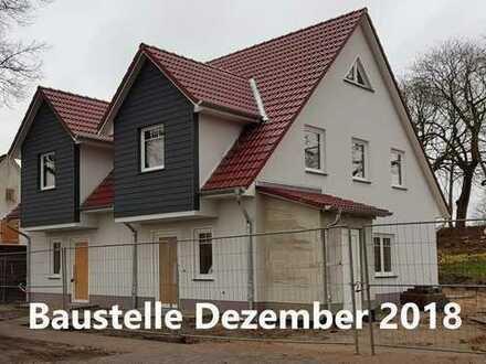 """ERSTBEZUG - Nette Nachbarn inklusive! Doppelhaus mit Garten im """"KASTANIENHOF"""" in Zirchow/Usedom"""