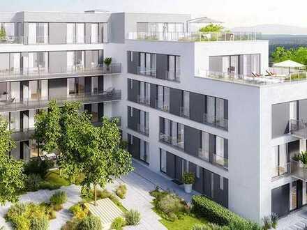 Neubau: moderne, große 2-Zimmer Wohnung über der Isar, mitten in der Stadt