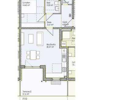 Sonnige 2-Zimmer Wohnung mit Gartenanteil zu vermieten (WH 10)