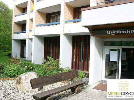 3 Appartements / Einzimmerwohnungen / Ferienwohnungen im Quellenhof Bad Urach