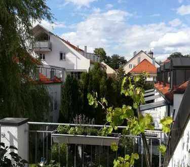 Traumhafte 3-Zimmer-Dachgeschosswohnung mit EBK in zentraler Lage von Weilheim