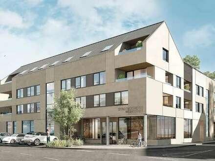 KfW-55-Förderung! 3-Zi.-Wohnung auf ~105m² in einem zukunftsweisenden Kultur- & Wohn-Ensemble