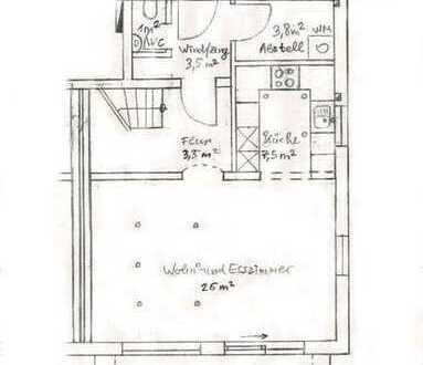 Schöne Maisonette-Wohnung mit separatem Eingang in Bondorf