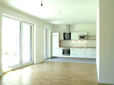 3-Zimmer-EG-Wohnung mit eigenem Garten, Terrasse und EBK, ab 1.7.2019 frei, Bahnstadt.